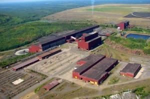 PolyMet plans to use this abandoned taconite facility to process copper, nickel, cobalt and precious metals from its nearby  NorthMet Mine (Source: mprnews.org)