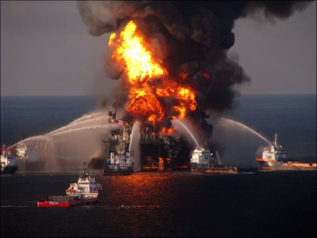 Events such as the 2010 Deepwater Horizon spill prompted EPA's proposed more stringent  controls on the use of dispersants. (Source:  US Chemical Safety Board)
