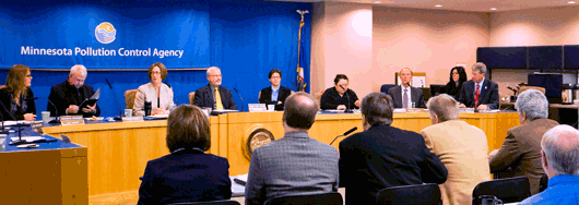 MPCA Citizens' Board in action (Source: www.pca.state.mn.us)