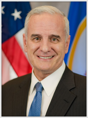 Minnesota Governor Mark Dayton (source: http://mn.gov/governor/dayton)